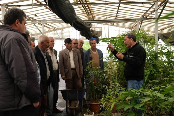 """Kırsaldaki üreticiler eğitiliyor, """"Kaliteli"""" ürün yetişiyor galerisi resim 2"""