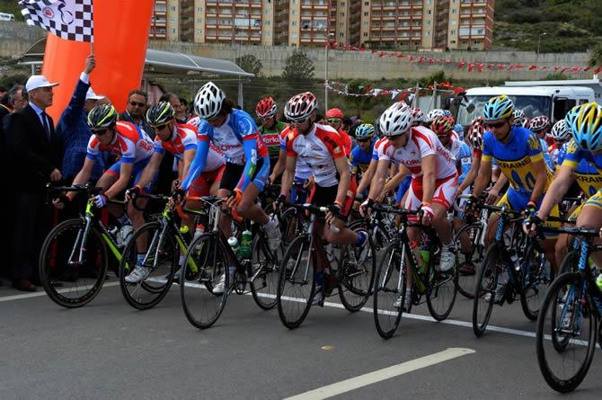 Mersin Uluslararası Bisiklet Turu'na Anamur'dan start verildi galerisi resim 1