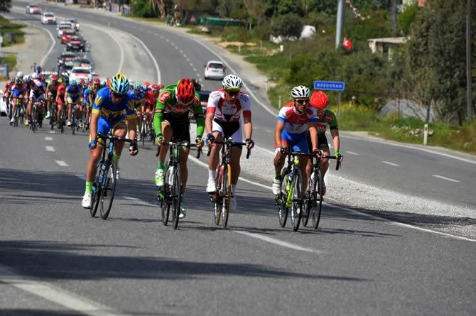 Mersin Uluslararası Bisiklet Turu'na Anamur'dan start verildi galerisi resim 7