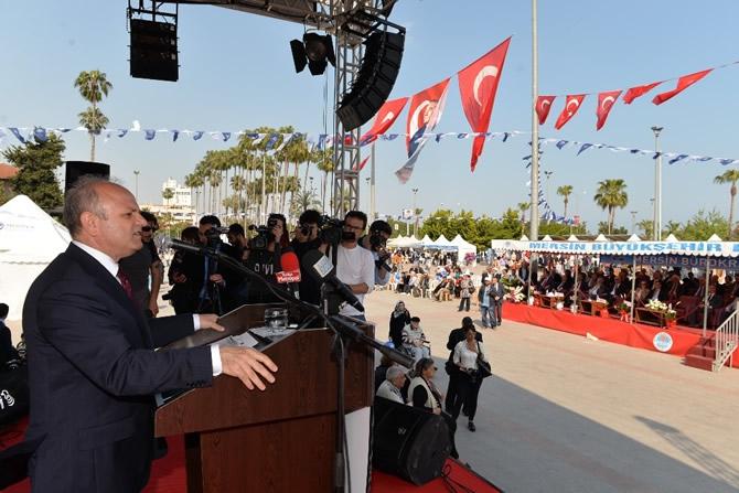 2. Mersin Kültürler Festivali coşkulu bir törenle başladı galerisi resim 10