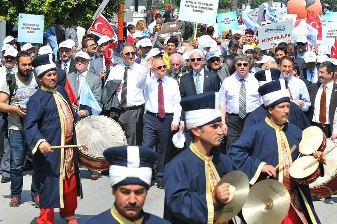 2. Mersin Kültürler Festivali coşkulu bir törenle başladı galerisi resim 13