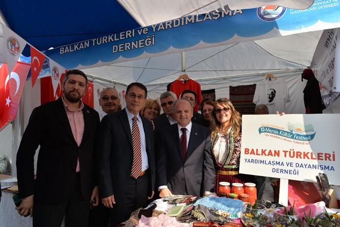 2. Mersin Kültürler Festivali coşkulu bir törenle başladı galerisi resim 19