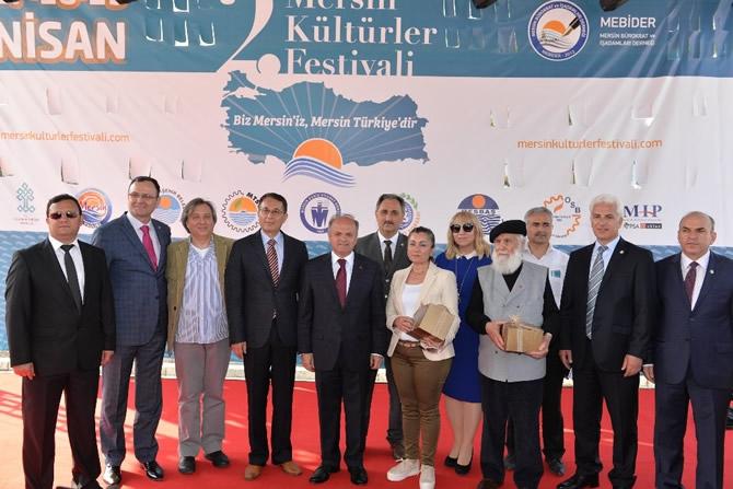 2. Mersin Kültürler Festivali coşkulu bir törenle başladı galerisi resim 26