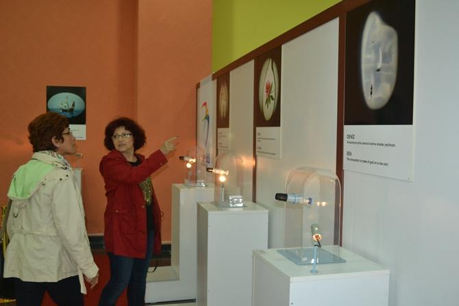 """Sadece Mikroskopla Görülebilen """"Mikro Minyatür Eserler Sergisi"""" galerisi resim 1"""