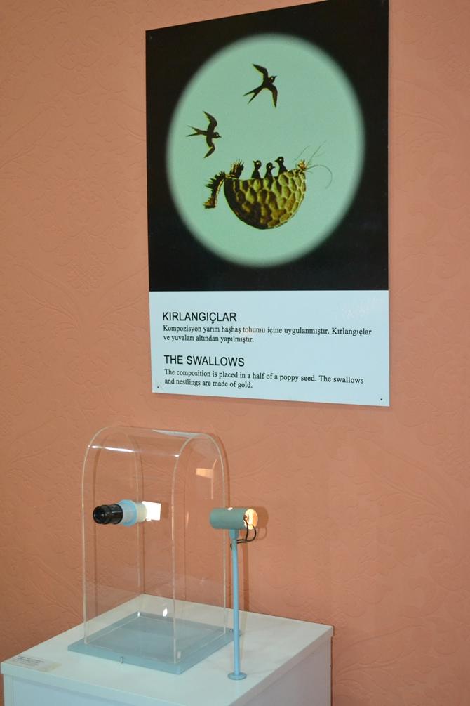 """Sadece Mikroskopla Görülebilen """"Mikro Minyatür Eserler Sergisi"""" galerisi resim 16"""