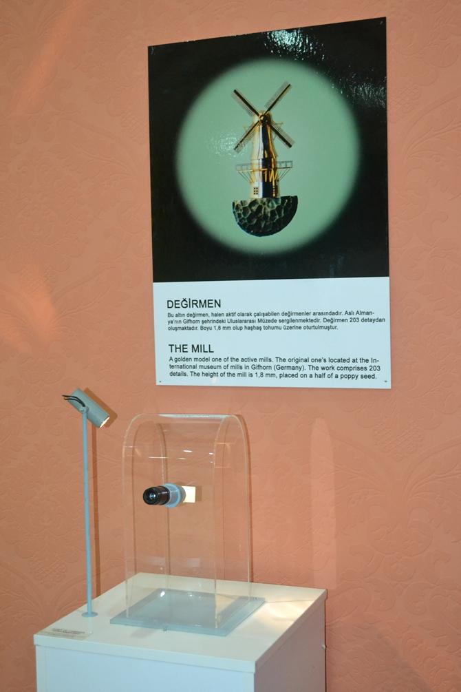 """Sadece Mikroskopla Görülebilen """"Mikro Minyatür Eserler Sergisi"""" galerisi resim 17"""