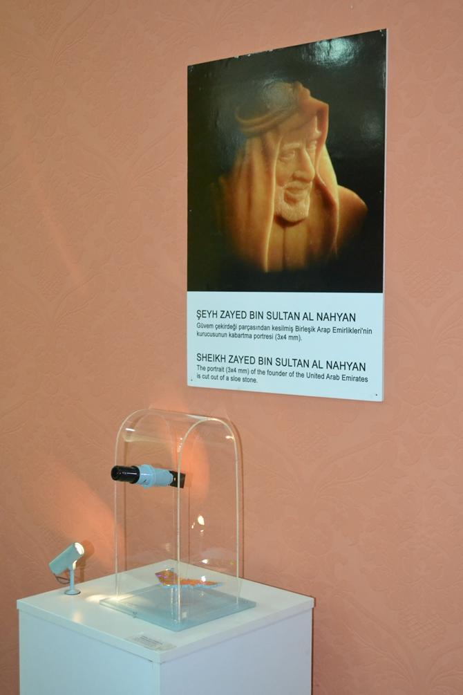 """Sadece Mikroskopla Görülebilen """"Mikro Minyatür Eserler Sergisi"""" galerisi resim 18"""