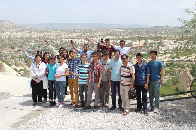 Şehit İbrahim Armut Fen Lisesi, üniversiteleri tanıdı galerisi resim 16