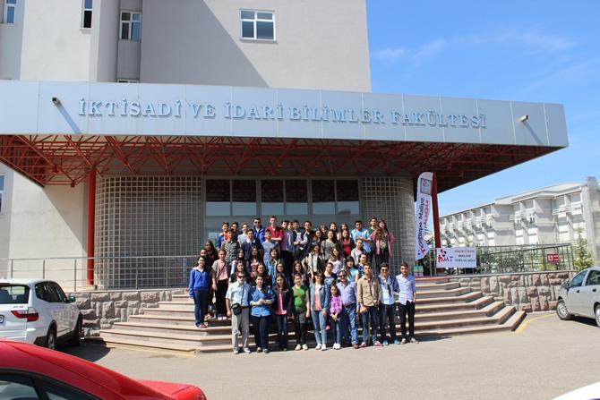 Şehit İbrahim Armut Fen Lisesi, üniversiteleri tanıdı galerisi resim 2
