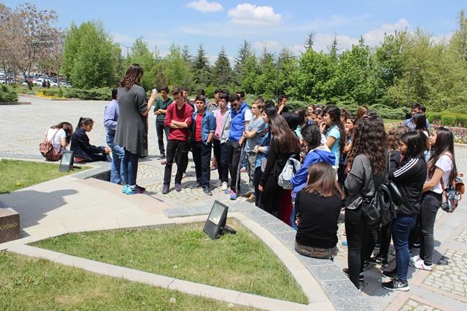 Şehit İbrahim Armut Fen Lisesi, üniversiteleri tanıdı galerisi resim 5