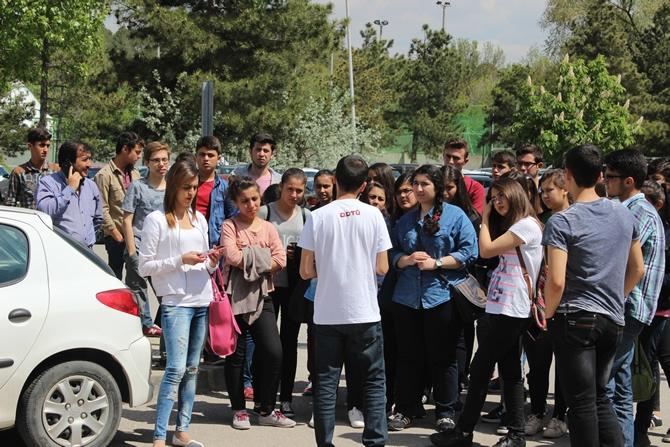 Şehit İbrahim Armut Fen Lisesi, üniversiteleri tanıdı galerisi resim 6