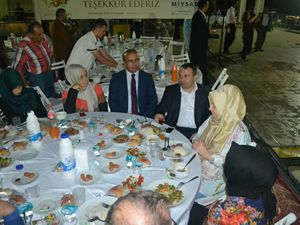 İstanbul'daki Mersinliler, MİYSAD İftarı'nda buluştu