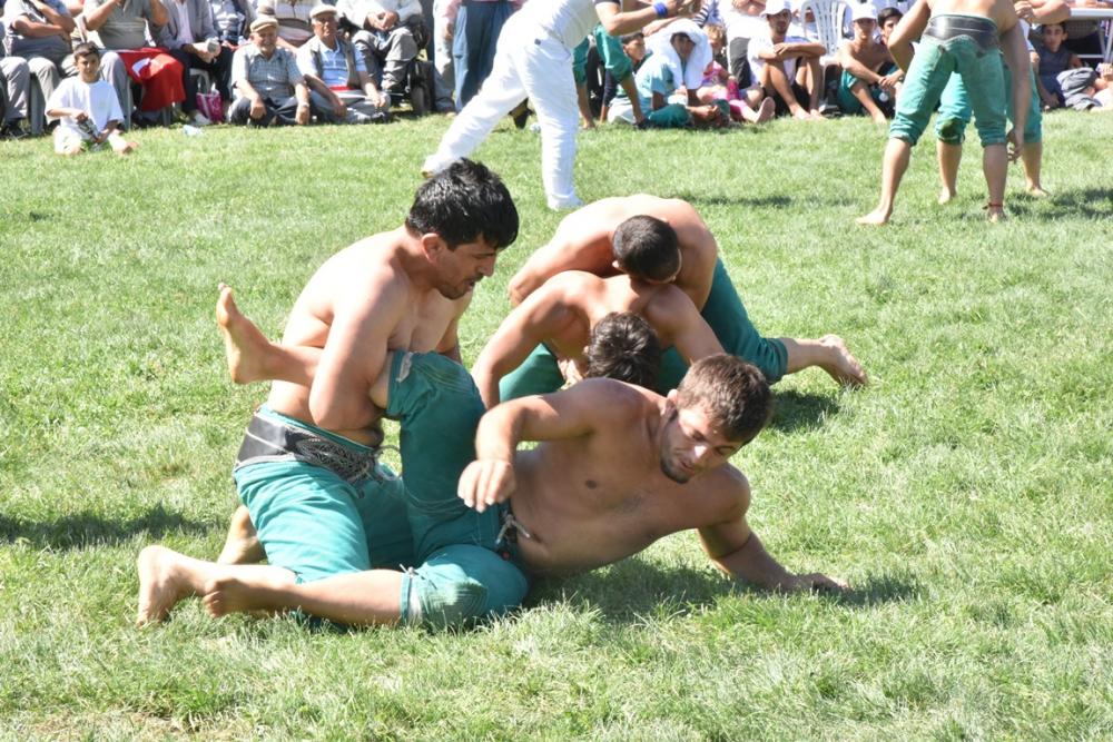 Karakucak Güreşleri Abanoz Yaylası'nda başladı galerisi resim 13