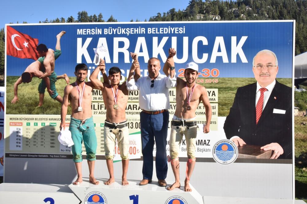 Karakucak Güreşleri Abanoz Yaylası'nda başladı galerisi resim 25