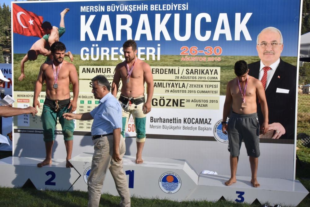 Karakucak Güreşleri Abanoz Yaylası'nda başladı galerisi resim 29