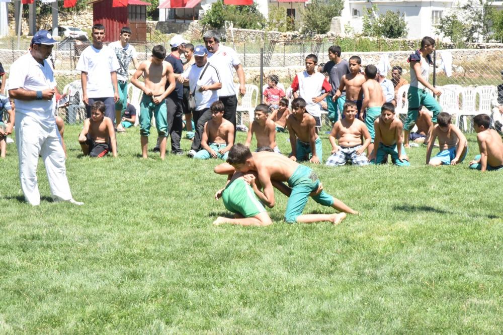 Karakucak Güreşleri Abanoz Yaylası'nda başladı galerisi resim 5