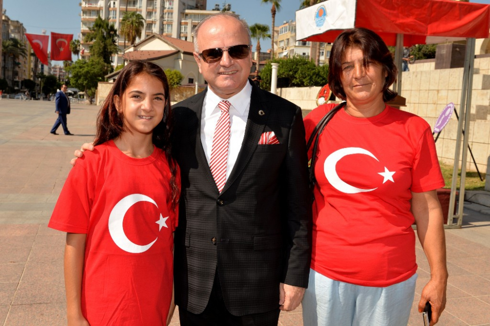 Mersin'de 30 Ağustos Zafer Bayramı coşkusu galerisi resim 17