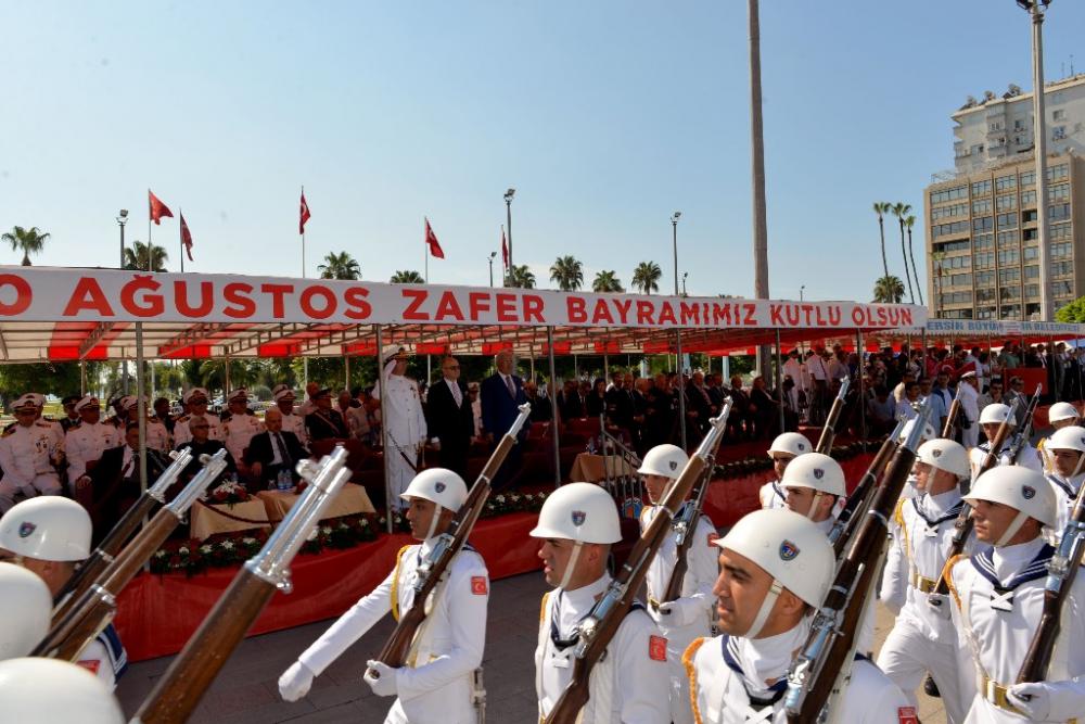 Mersin'de 30 Ağustos Zafer Bayramı coşkusu galerisi resim 6