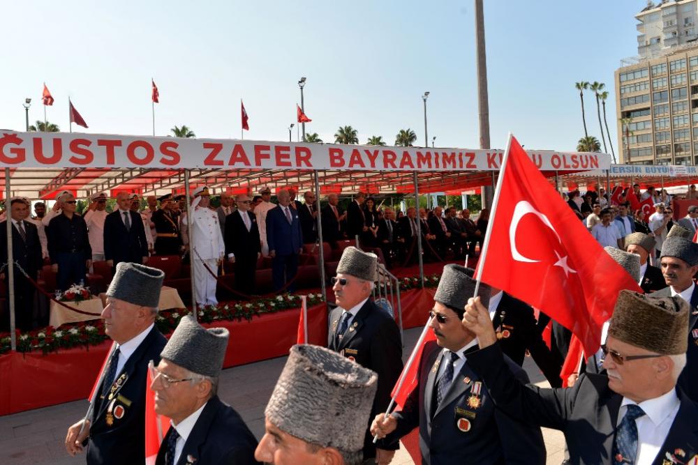 Mersin'de 30 Ağustos Zafer Bayramı coşkusu galerisi resim 8