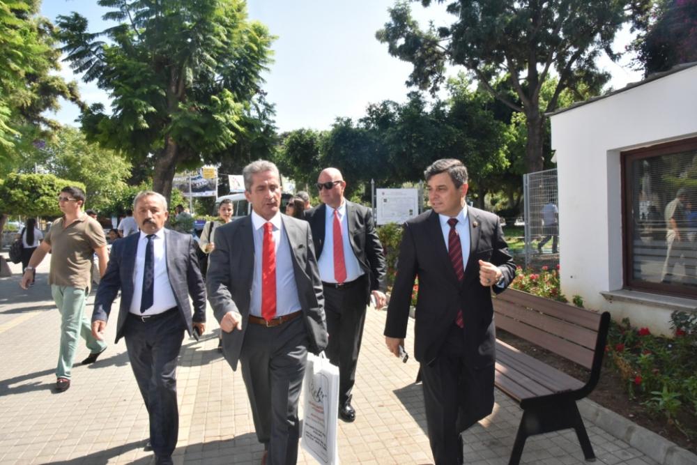 Başkan Türe, Girne 14. Zeytin Festivali'ne katıldı galerisi resim 1