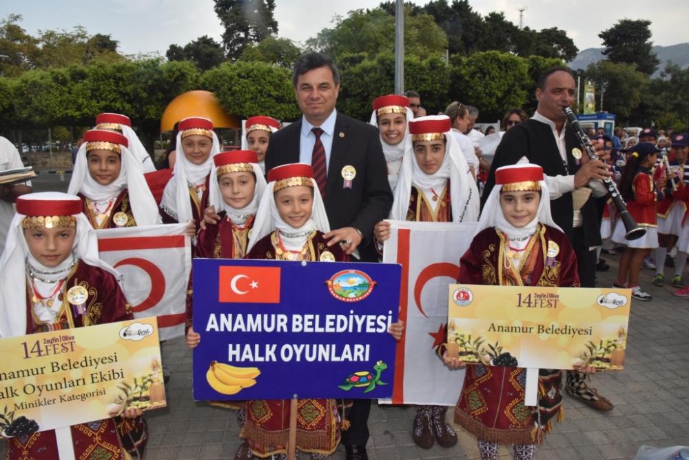Başkan Türe, Girne 14. Zeytin Festivali'ne katıldı galerisi resim 22