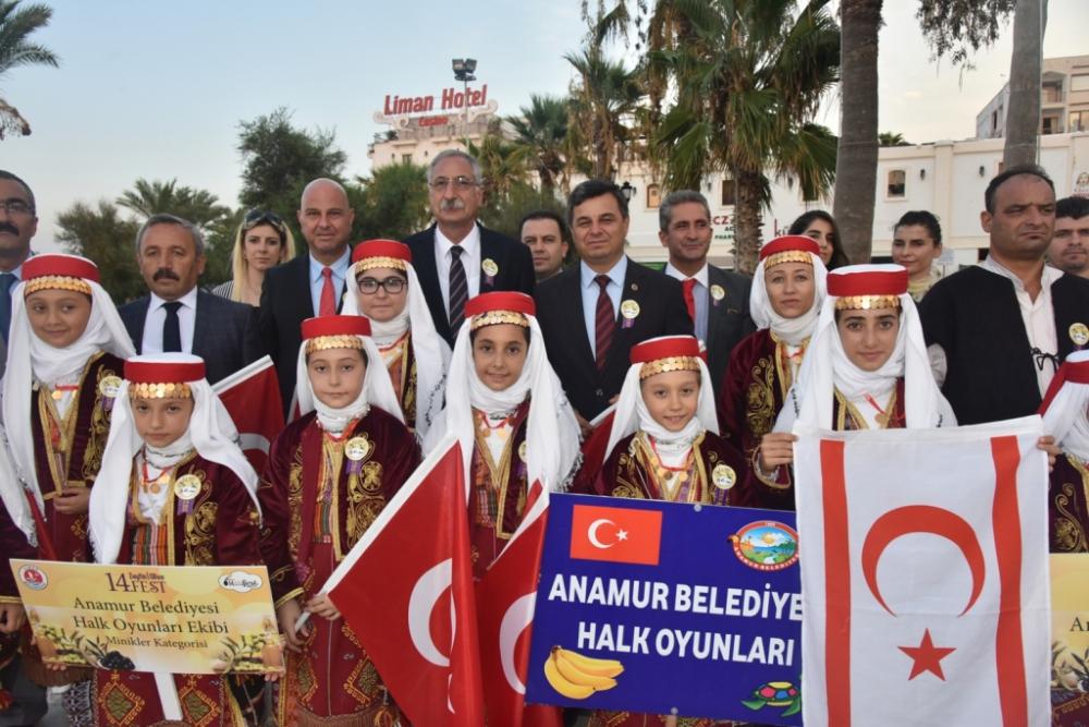 Başkan Türe, Girne 14. Zeytin Festivali'ne katıldı galerisi resim 36