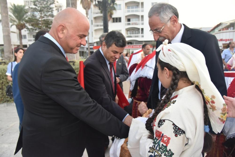 Başkan Türe, Girne 14. Zeytin Festivali'ne katıldı galerisi resim 38