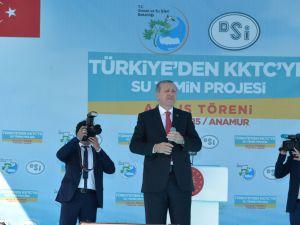Anamur'dan KKTC'ye Su Temin Projesi açılışı yapıldı