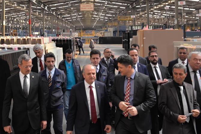 Mersin Valisi Özdemir Çakacak, Trakya Cam Fabrikası'nı ziyaret etti galerisi resim 5