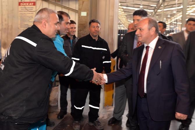 Mersin Valisi Özdemir Çakacak, Trakya Cam Fabrikası'nı ziyaret etti galerisi resim 8