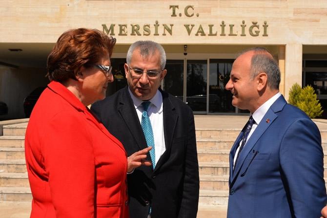 Bavyera Meclis Başkanı Stamm Vali Çakacak'ı ziyaret etti galerisi resim 1