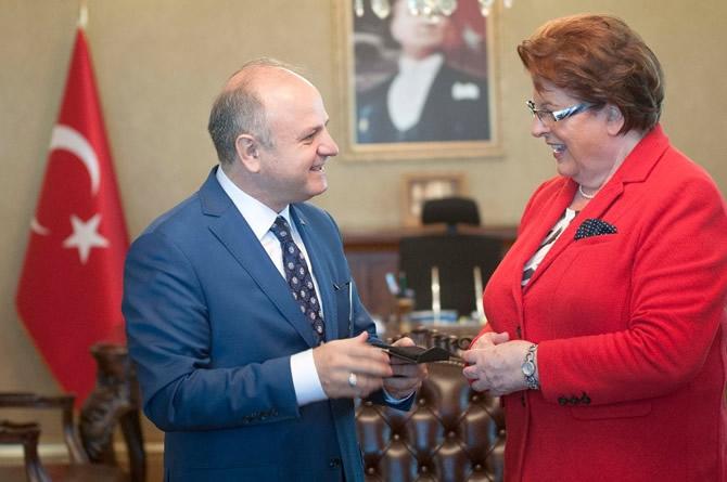 Bavyera Meclis Başkanı Stamm Vali Çakacak'ı ziyaret etti galerisi resim 3