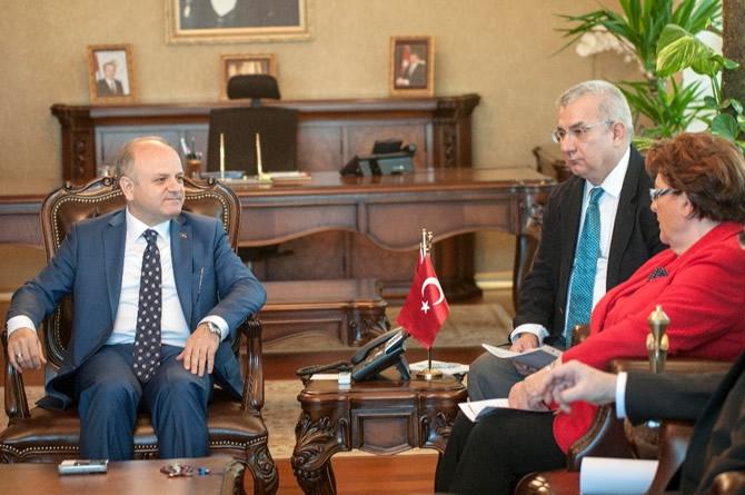 Bavyera Meclis Başkanı Stamm Vali Çakacak'ı ziyaret etti galerisi resim 4
