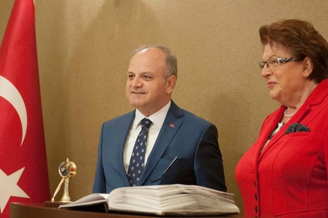 Bavyera Meclis Başkanı Stamm Vali Çakacak'ı ziyaret etti galerisi resim 5