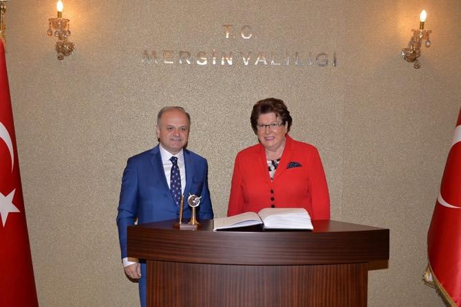 Bavyera Meclis Başkanı Stamm Vali Çakacak'ı ziyaret etti galerisi resim 6