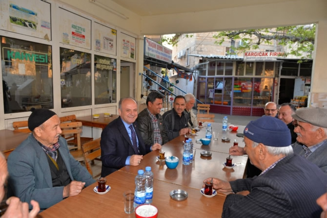 Mut Halkı ve Esnafı Mersin Valisi Özdemir Çakacak'ı bağrına bastı galerisi resim 10