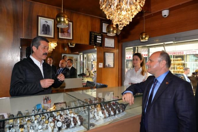 Mut Halkı ve Esnafı Mersin Valisi Özdemir Çakacak'ı bağrına bastı galerisi resim 15