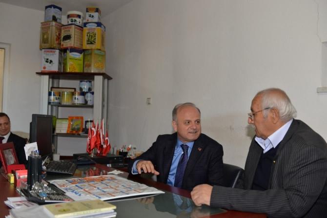 Mut Halkı ve Esnafı Mersin Valisi Özdemir Çakacak'ı bağrına bastı galerisi resim 17