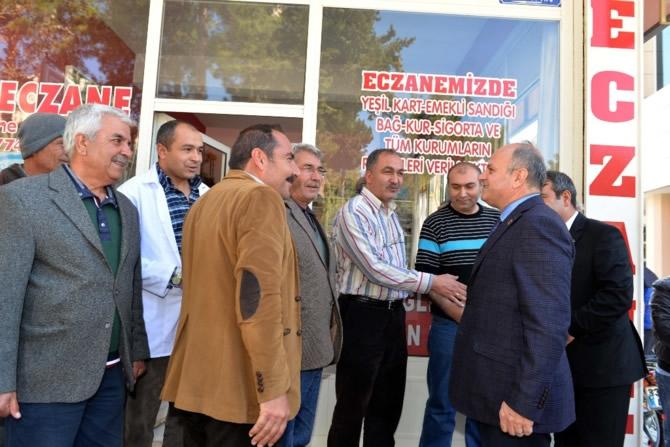 Mut Halkı ve Esnafı Mersin Valisi Özdemir Çakacak'ı bağrına bastı galerisi resim 18