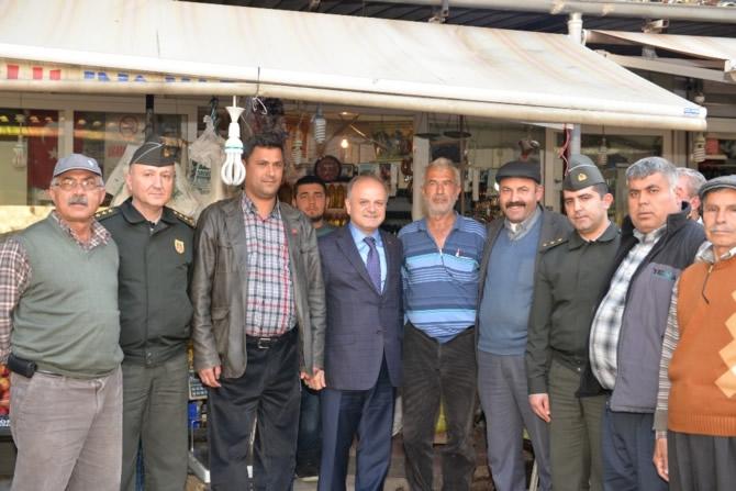 Mut Halkı ve Esnafı Mersin Valisi Özdemir Çakacak'ı bağrına bastı galerisi resim 3