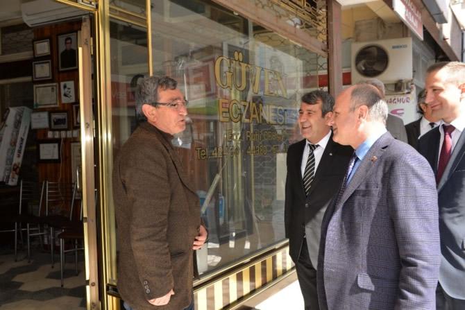 Mut Halkı ve Esnafı Mersin Valisi Özdemir Çakacak'ı bağrına bastı galerisi resim 34