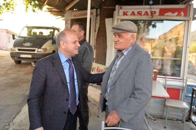 Mut Halkı ve Esnafı Mersin Valisi Özdemir Çakacak'ı bağrına bastı galerisi resim 5