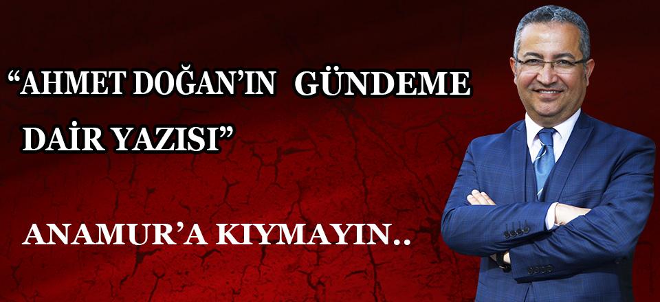 ANAMUR'A KIYMAYIN EFENDİLER !! ( 1)
