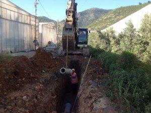 Bozyazı'da kanalizasyon çalışmalarının yüzde 80'i tamamlandı
