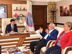 CHP'li Baysan'dan Başkan Türe'ye nezaket ziyareti