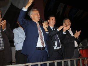 Gültak, Anamur'da partililer ile buluştu