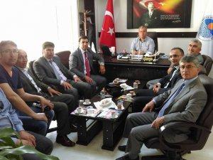 1. Dikencik-Çellikalanı Bahar Şenliği komite heyeti, çeşitli ziyaretlerde bulundu