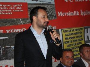 MHP Mersin Milletvekili Adayı Ali Yücelen, MHP iktidarı Anamur'a çok güzel projeler planladı