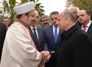 Diyanet İşleri Başkanı Mehmet Görmez, Mersin'i ziyaret etti
