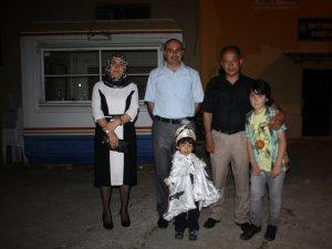 Polis Memuru Nihat Uluç'un oğluna sünnet düğünü yapıldı